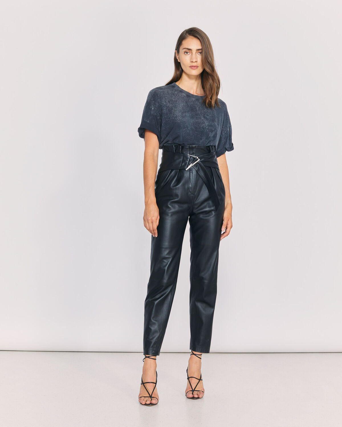 IRO - HUSVIK TROUSERS BLACK