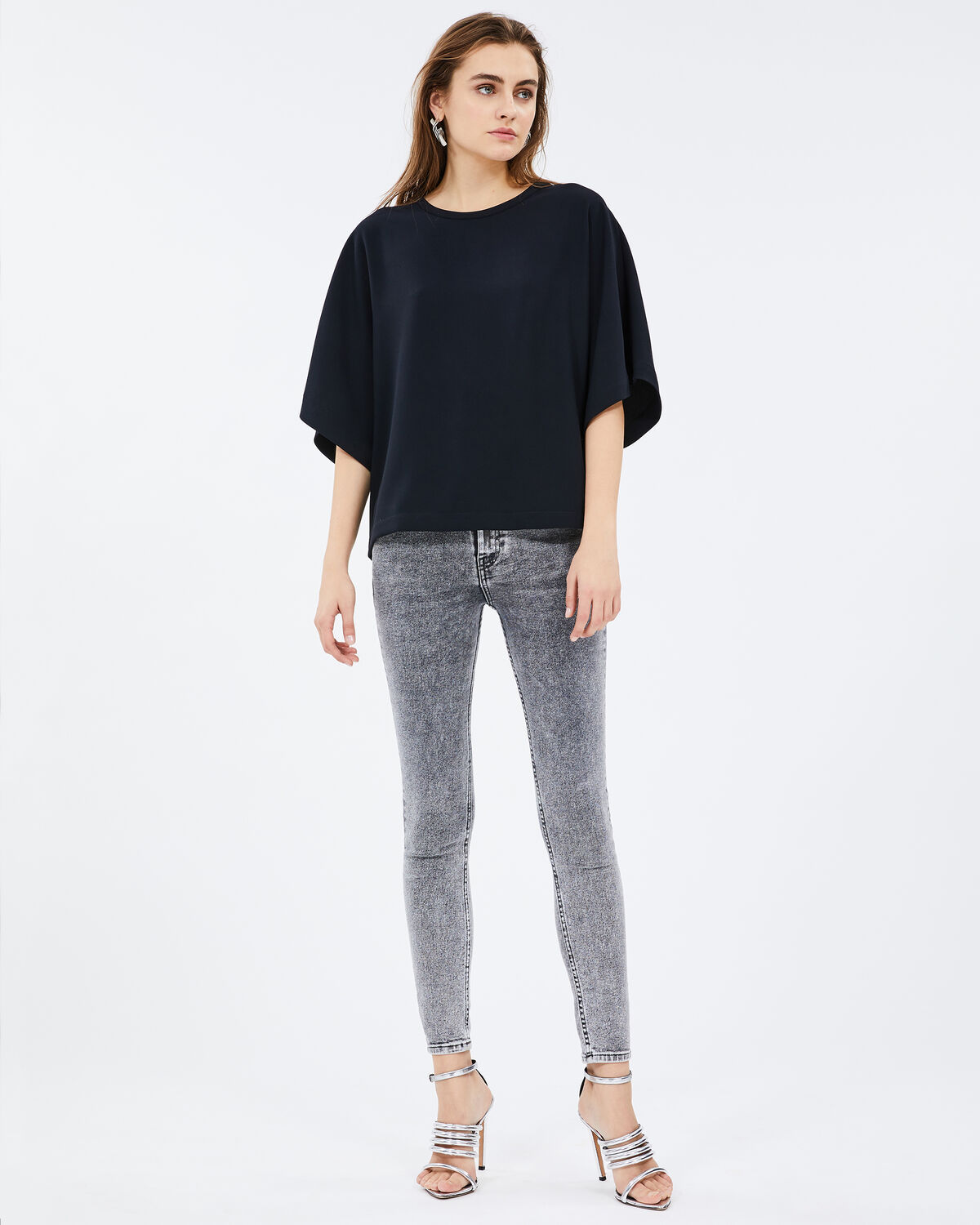 Fiori Top Black by IRO Paris