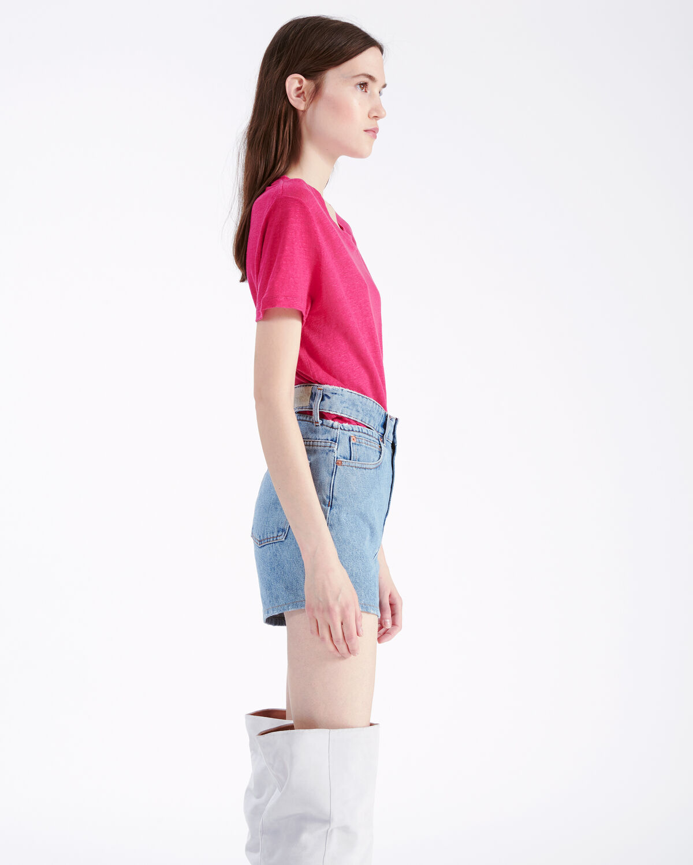 IRO - LUCIANA T-SHIRT PINK