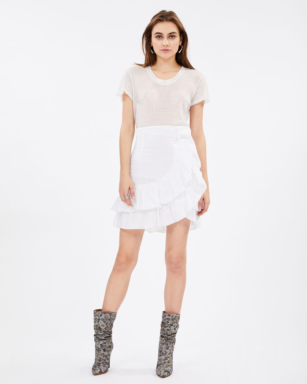 Musk Skirt White by IRO Paris