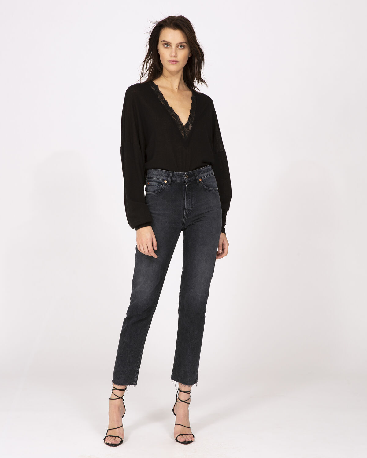 Chary Jeans Black And Grey by IRO Paris