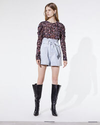 IRO - SHORT VOUKKO SNOW BLEACH