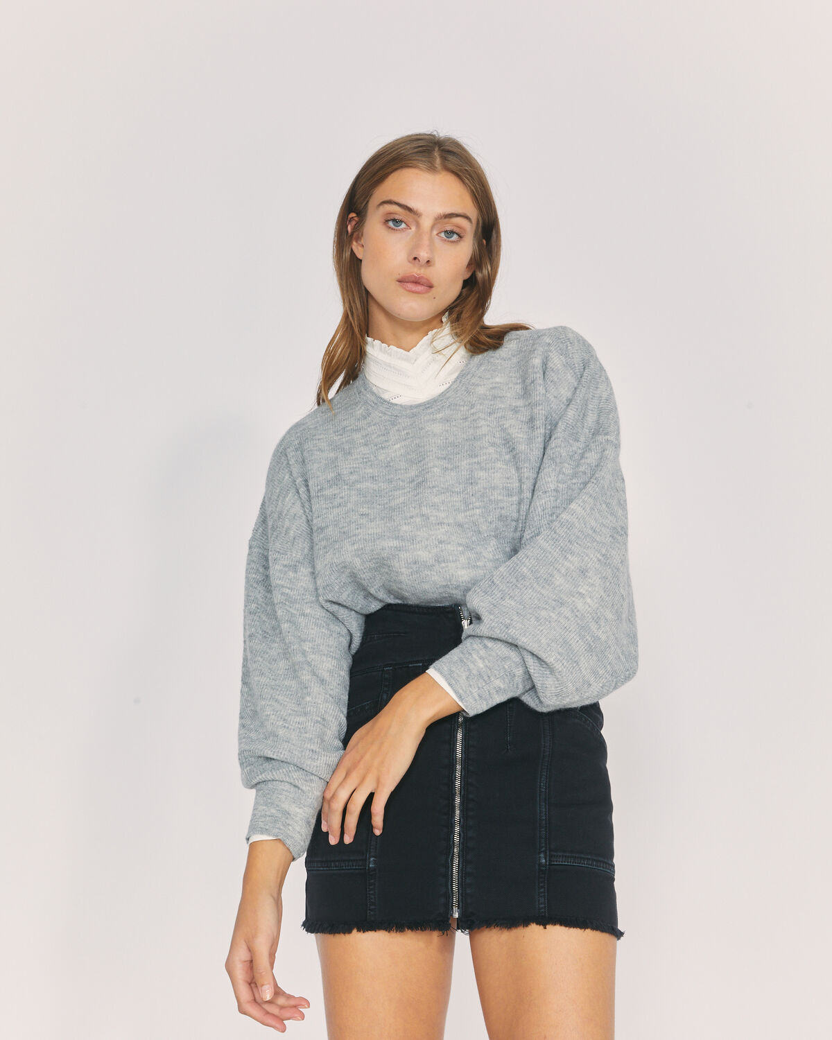 IRO - PULL ESCAPE MIXED GREY