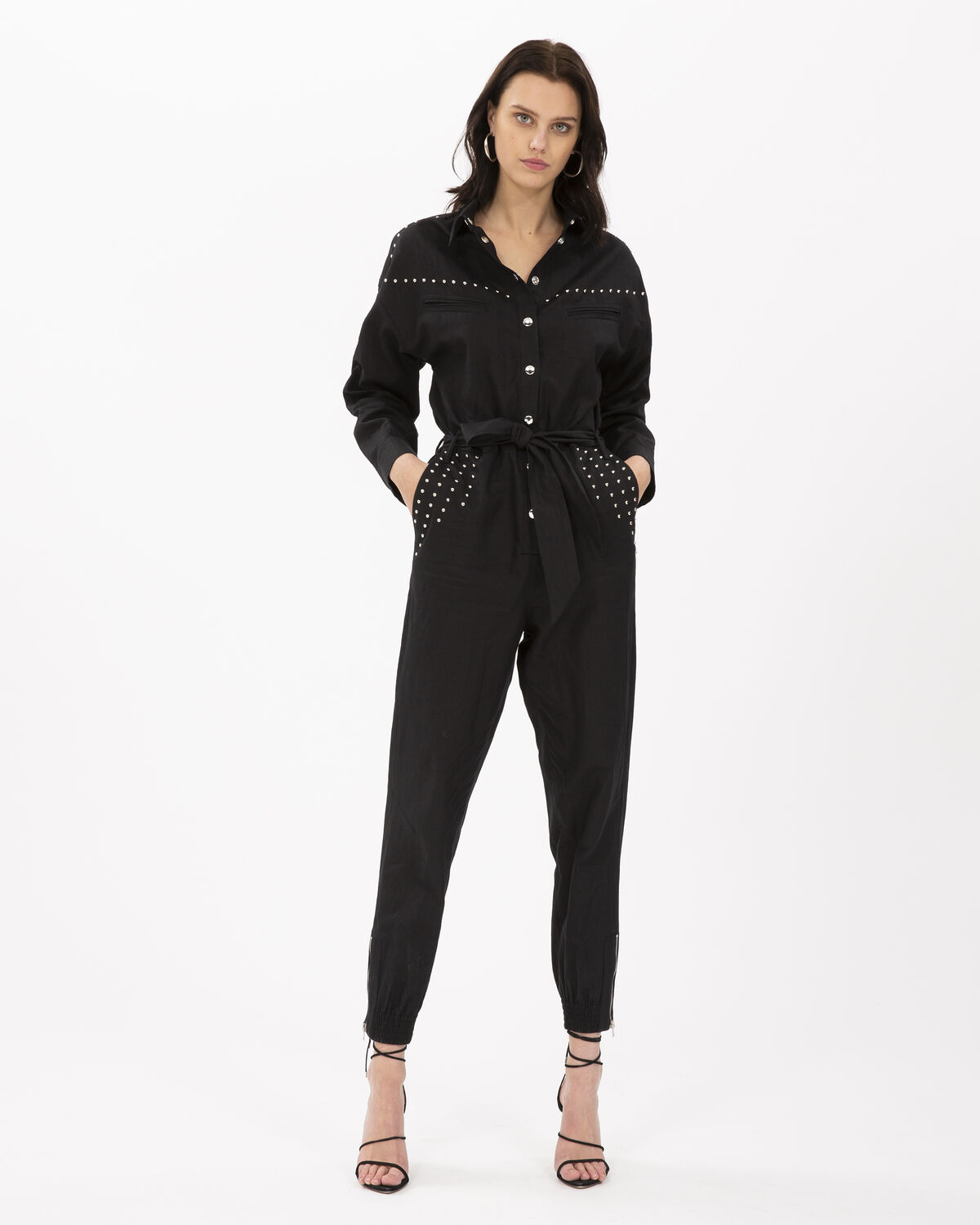 IRO - NICELY JUMPSUIT BLACK