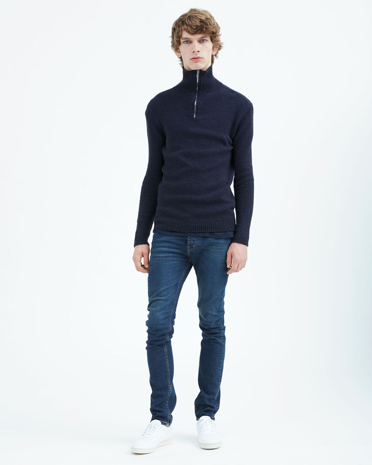 IRO - TRYA SWEATER NAVY