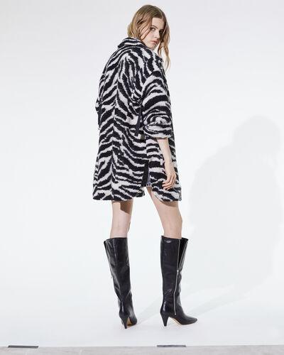 IRO - BERA COAT BLACK/WHITE