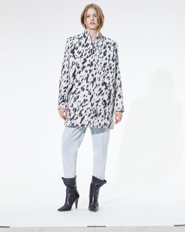 IRO - RIMONA COAT BLACK/WHITE
