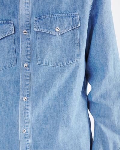 IRO - HORIZON SHIRT BLUE