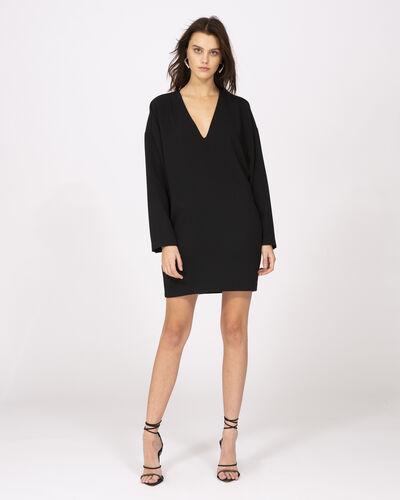 Iro Supple Dress In Black