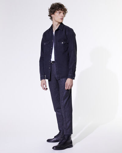 IRO - ROEL OVERSHIRT BLACK DENIM