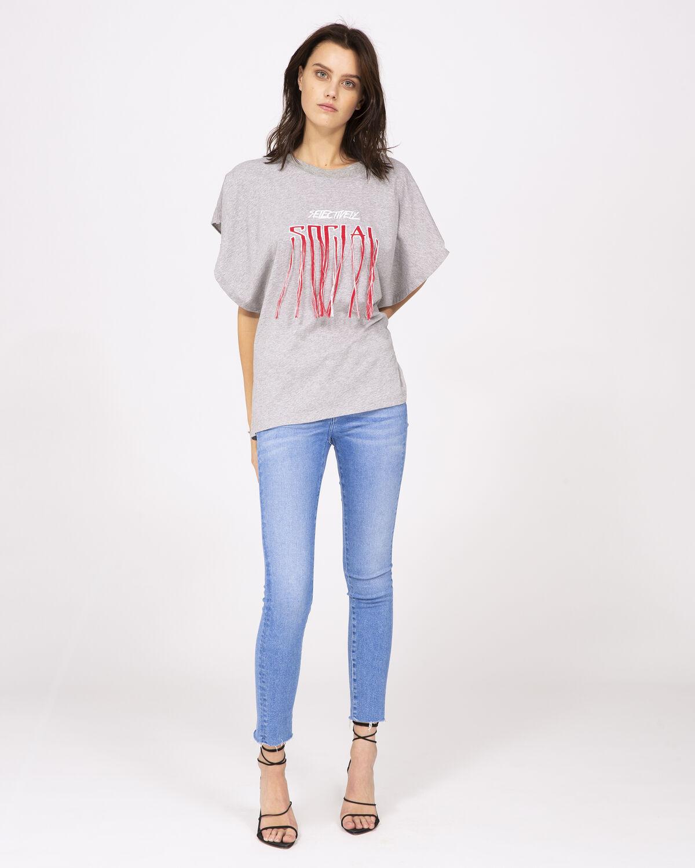 Vulpine T-Shirt Grey by IRO Paris
