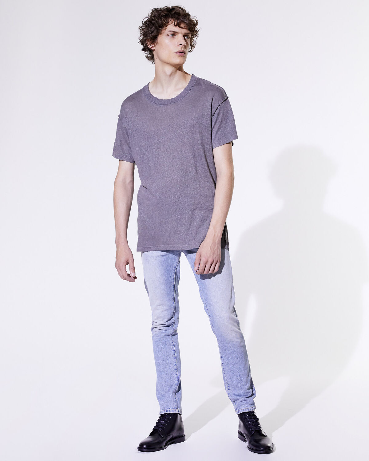 IRO - T-SHIRT JURUS DARK GREY
