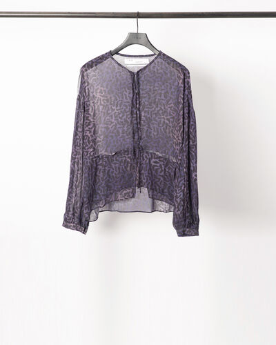 IRO - GUILT BLOUSE PURPLE