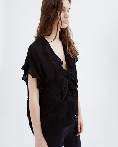 IRO - FENN TOP BLACK