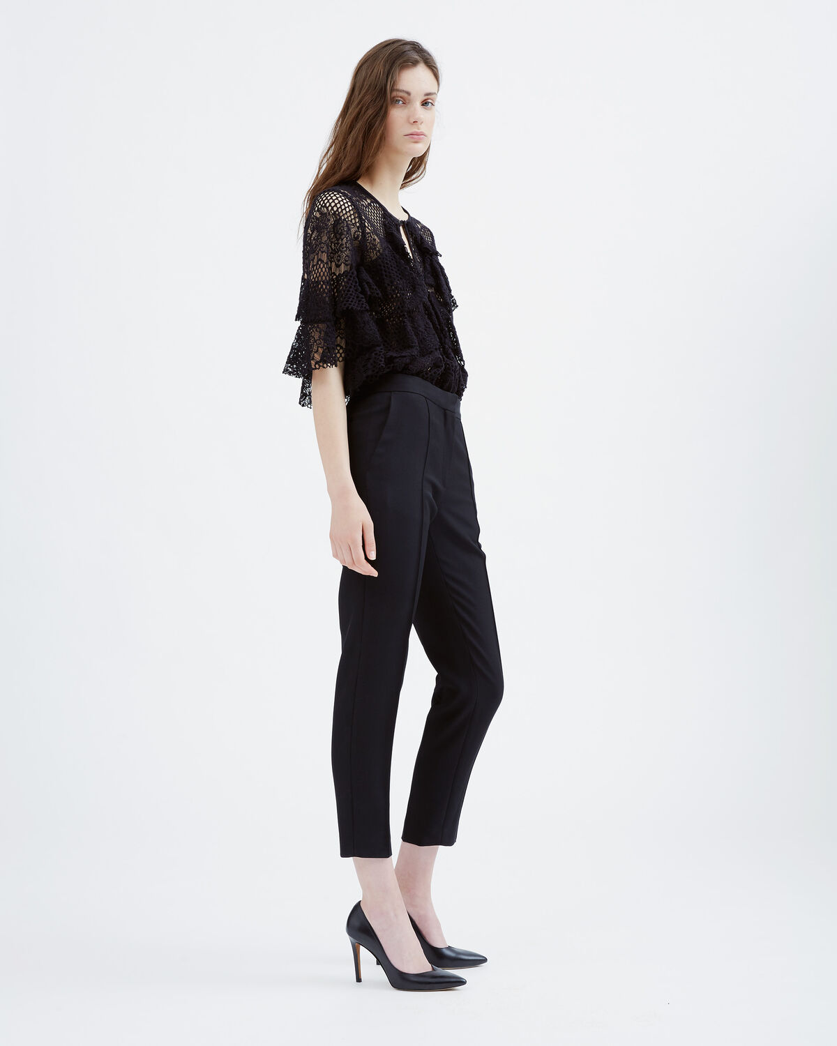 IRO - TEAN PANTS BLACK