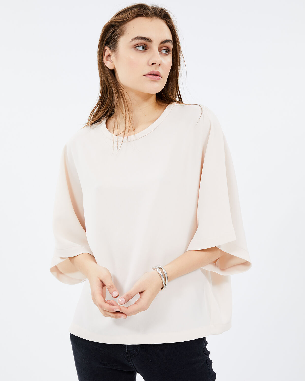 Fiori Top Old Pink by IRO Paris