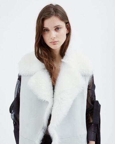 IRO - ZATLEE COAT CLOUDY WHITE