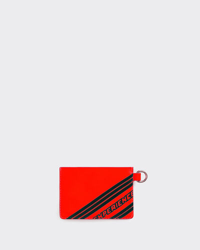 IRO - MONEYMM CLUTCH BAG CORAL FLUO/BLACK