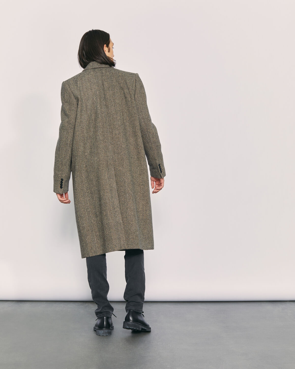 IRO - ANDHRY COAT BROWN CAMEL