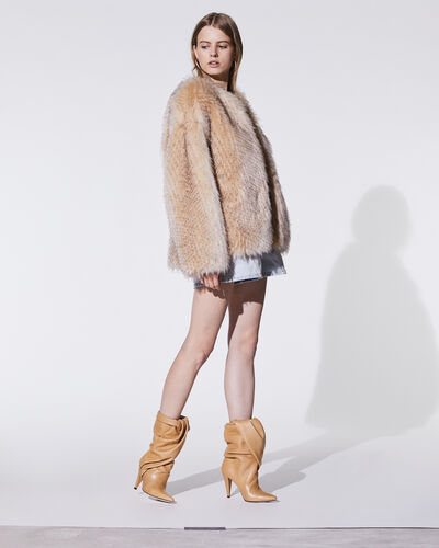 IRO - GAIMY COAT BEIGE