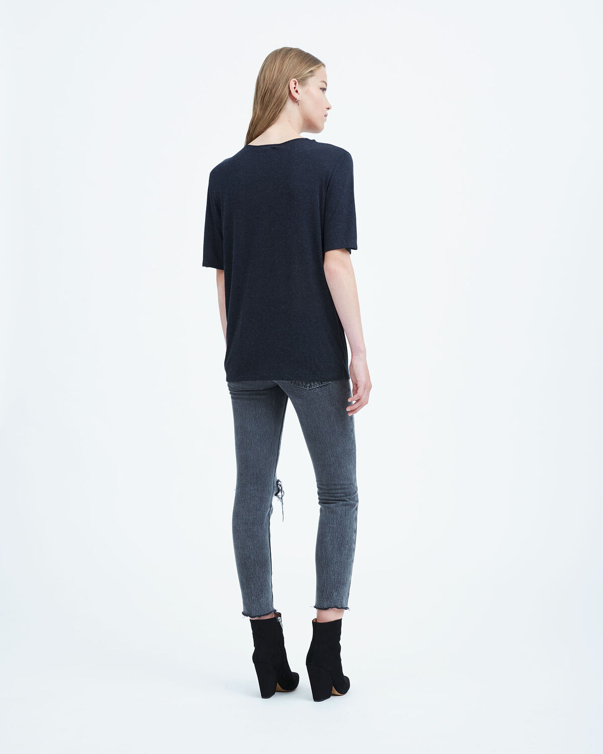IRO - LASSLA T-SHIRT BLACK