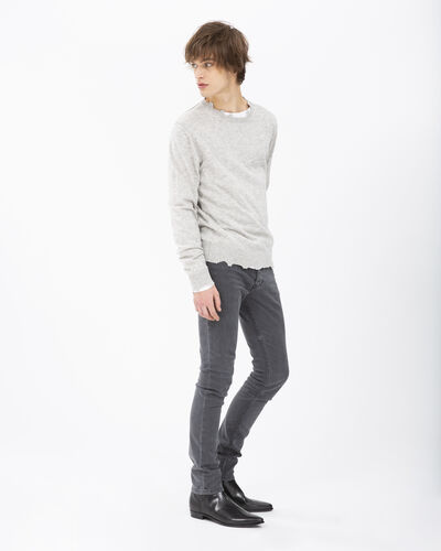 IRO - WILLFUL SWEATER LIGHT GREY