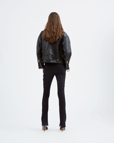 IRO - VANDRY LEATHER JACKET BLACK