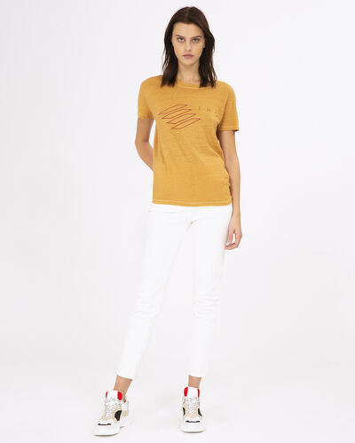 Iro Lucie T-Shirt In Safran