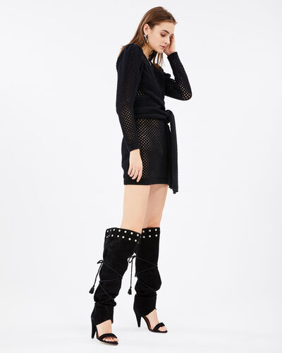IRO - ADORN DRESS BLACK