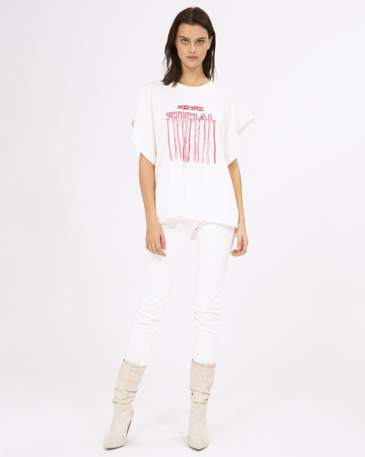 IRO - VULPINE T-SHIRT WHITE