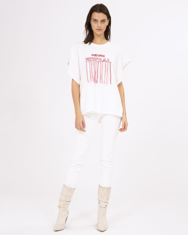 Vulpine T-Shirt White by IRO Paris
