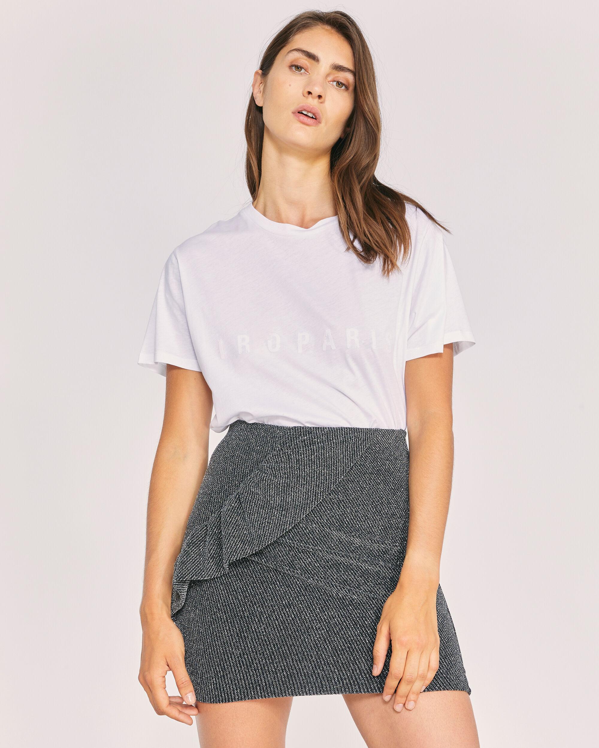 이로 티셔츠 IRO TEACH T-SHIRT,WHITE