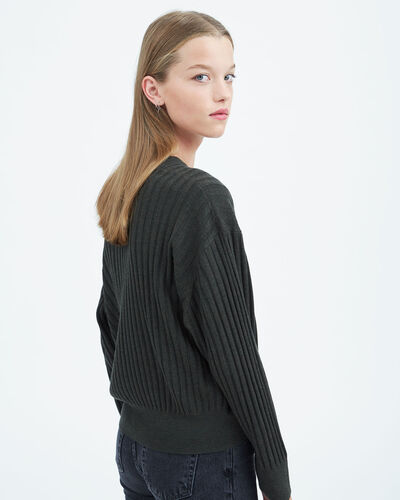 IRO - TAMIVIA SWEATER ARMY OLIVE NIGHT