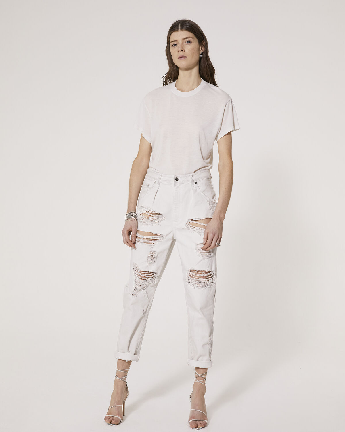 IRO - POZO T-SHIRT DIRTY WHITE