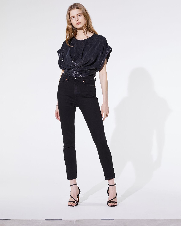 Mia Bodysuit Black by IRO Paris