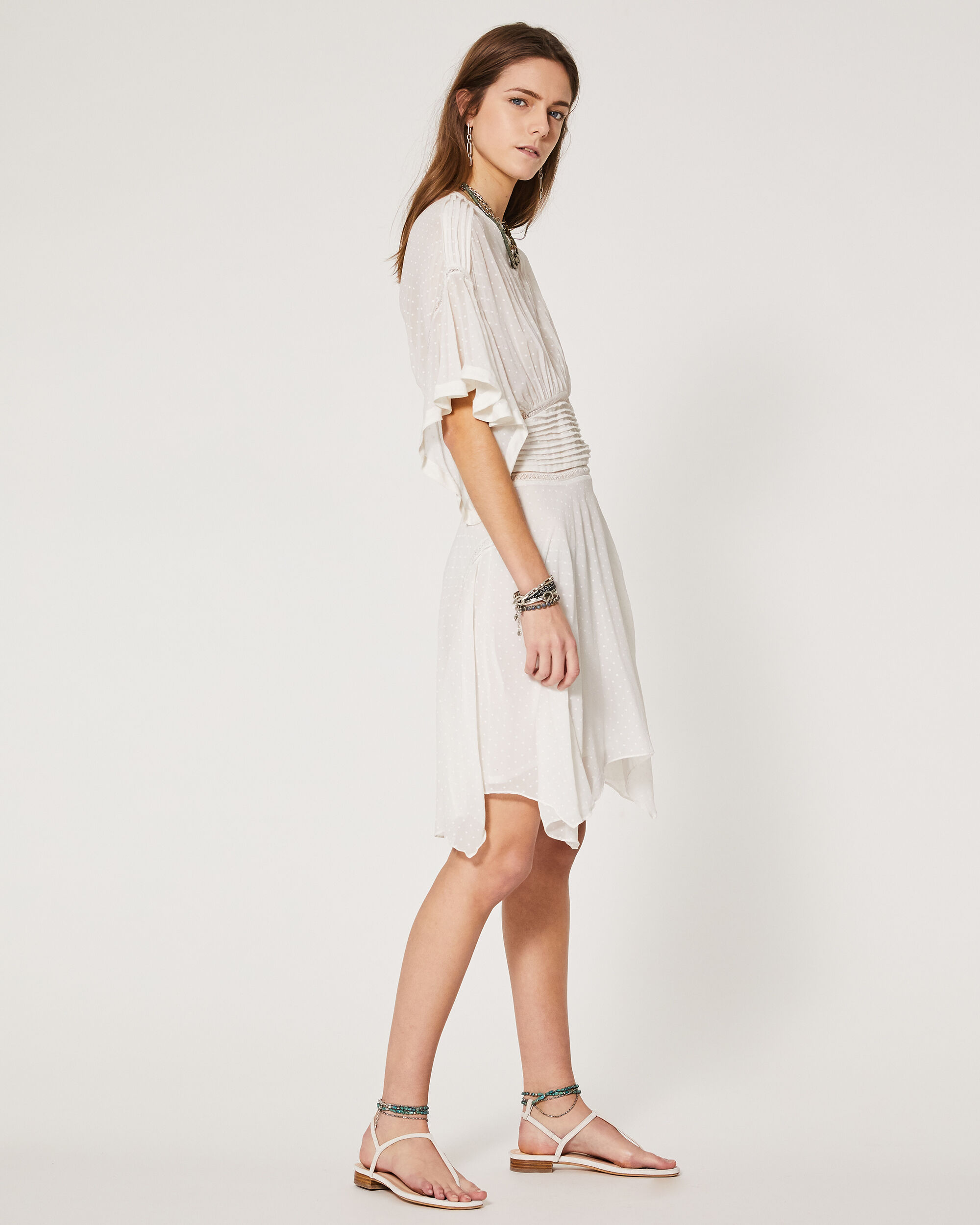 이로 원피스 IRO ROBE ENDOUMA,WHITE