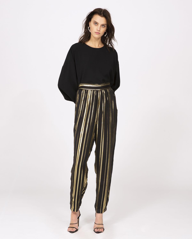 Truelove Pants Black And Gold by IRO Paris