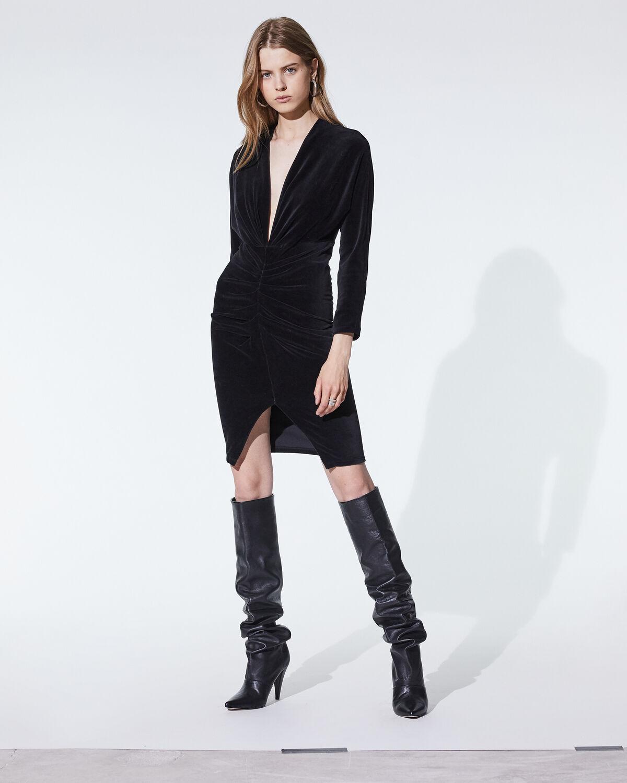 Acoma Dress Black by IRO Paris
