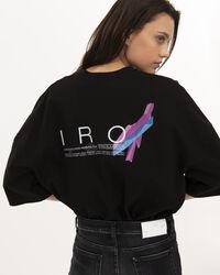 IRO - VIVID T-SHIRT BLACK
