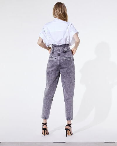 IRO - VIENO TROUSERS SNOW BLACK