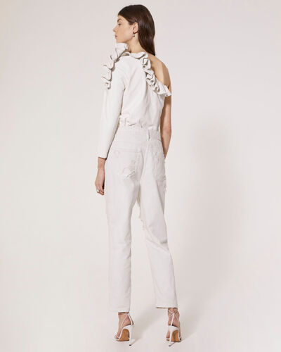 IRO - JEAN ELINI DIRTY WHITE