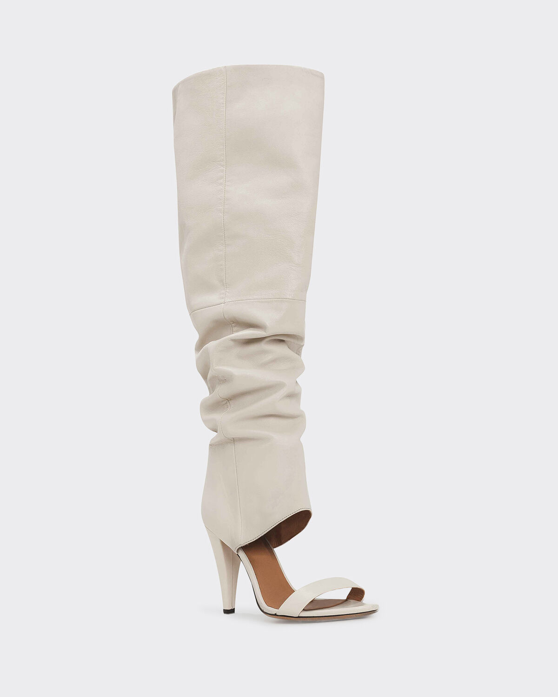 IRO - DIXI BOOTS WHITE
