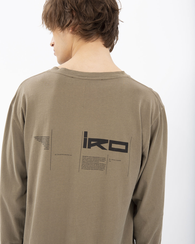 IRO - UNTAMED T-SHIRT KHAKI
