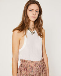 IRO - LUNEO TANK TOP WHITE