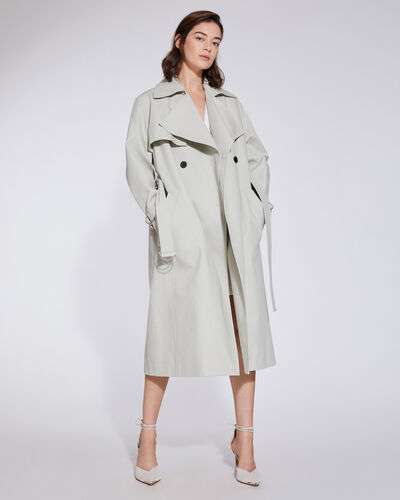 Iro BENOIT DOUBLE BREASTED BELTED TRENCH COAT