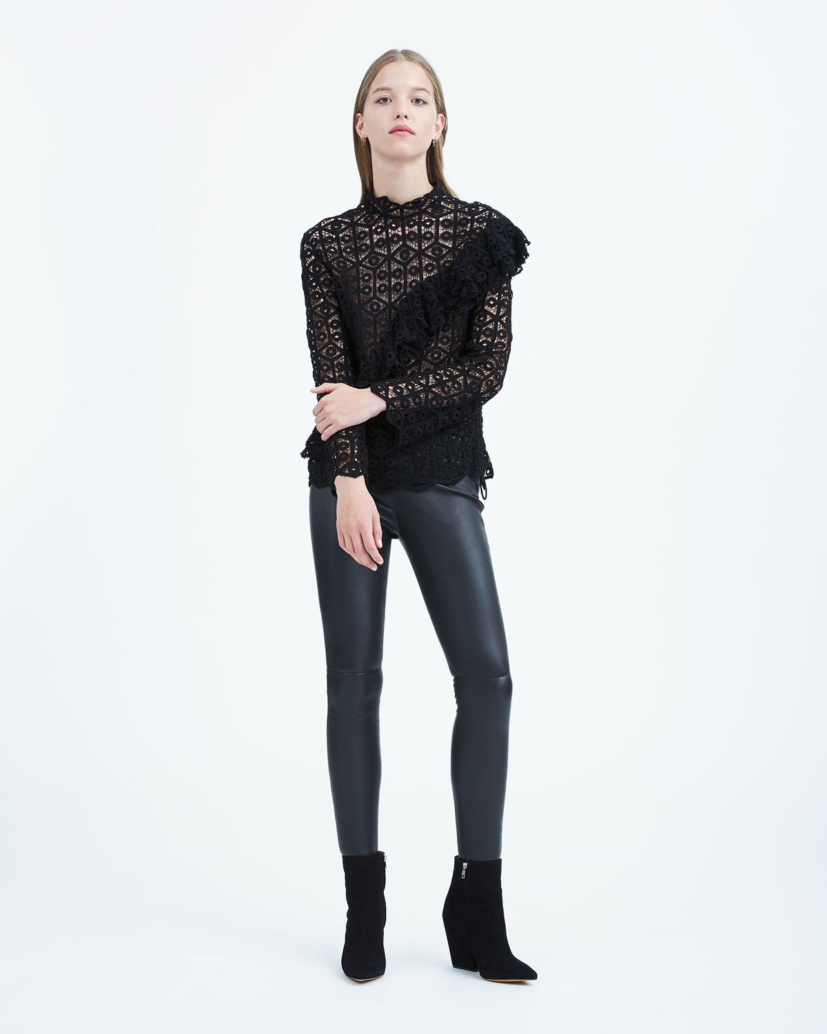 IRO - LAMATA TOP BLACK