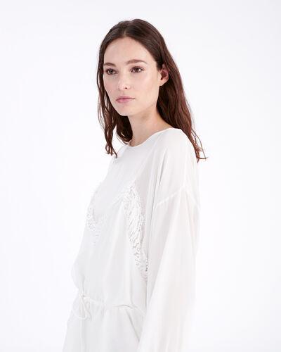 IRO - HASSLE DRESS ECRU