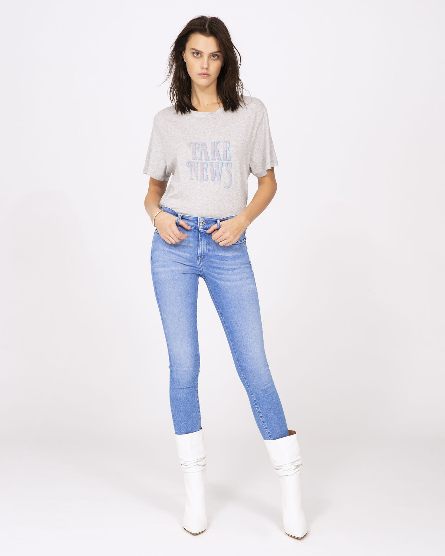 Hothead T-Shirt Light Grey by IRO Paris