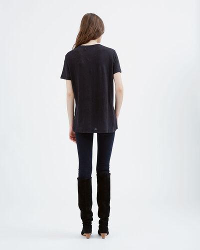 IRO - T-SHIRT LUCIANA BLACK
