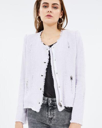 Iro Agnette Jacket In Lilas